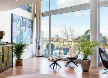 Thumbnail 4 bed flat for sale in Albion Riverside Penthouse, Hester Road, London