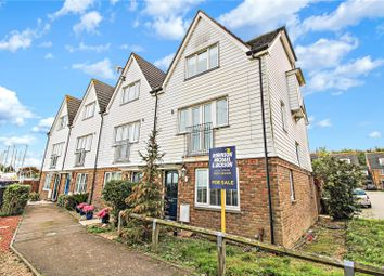 Waterside Lane, Gillingham, Kent ME7. 4 bed end terrace house for sale