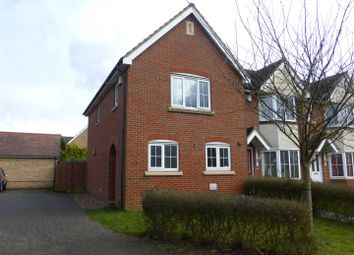 Thumbnail 3 bed semi-detached house for sale in Saunders Court, Great Cambourne, Cambridge