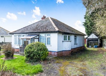 Thumbnail 3 bedroom detached bungalow for sale in Church Lane, Chapel St. Leonards, Skegness