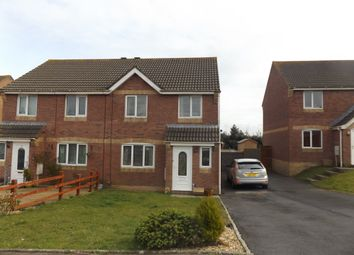 Thumbnail 3 bedroom semi-detached house to rent in Brynhyfryd, Llangennech, Llanelli, Carmarthenshire