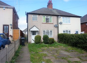 Thumbnail 3 bedroom semi-detached house for sale in Bunns Lane, Dudley