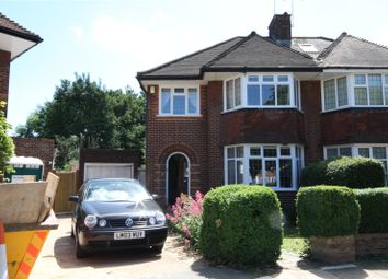 Thumbnail 3 bed semi-detached house to rent in Oakleigh Gardens, Whetstone, London