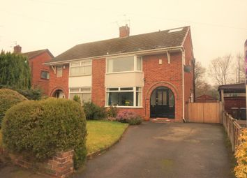 Thumbnail 4 bed semi-detached house for sale in Atherstone Road, Stoke-On-Trent