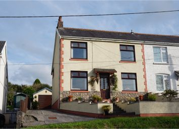 Thumbnail 3 bed semi-detached house for sale in Heol Capel Ifan, Llanelli
