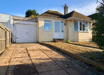 Thumbnail 2 bedroom bungalow for sale in Saltdean Vale, Saltdean, Brighton