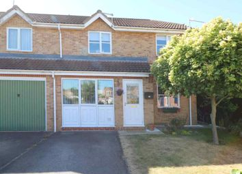 Thumbnail 3 bed semi-detached house for sale in Oak Road, Sleaford
