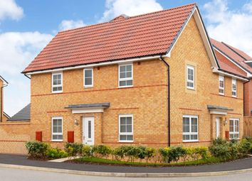 """Thumbnail 3 bed semi-detached house for sale in """"Moresby"""" at Somerset Avenue, Leicester"""