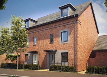 "Thumbnail 4 bedroom end terrace house for sale in ""Woodcote"" at Langaton Lane, Pinhoe, Exeter"