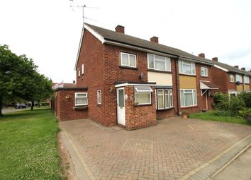 Thumbnail 3 bed semi-detached house to rent in Barley Way, Bedford