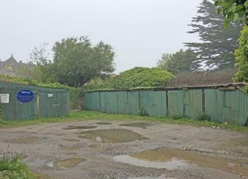 Thumbnail Parking/garage for sale in Garages Rear Of Basset Street, Camborne, Cornwall