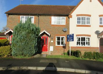 Thumbnail 2 bed terraced house to rent in St Judes Close, Bishopdown Farm, Salisbury