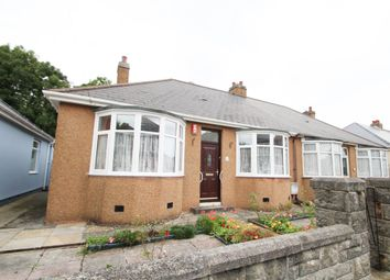 Thumbnail 3 bed semi-detached bungalow for sale in Waverley Road, Plymouth