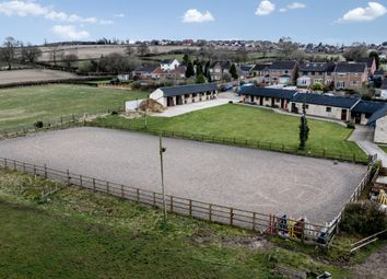 Thumbnail Equestrian property for sale in Seanor Lane, Lower Pilsley, Chesterfield