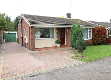 Thumbnail 3 bed detached bungalow for sale in Chesham Road, Sawtry, Huntingdon