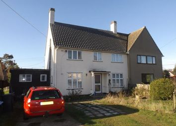 Thumbnail 3 bed semi-detached house for sale in Stutton, Ipswich, Suffolk