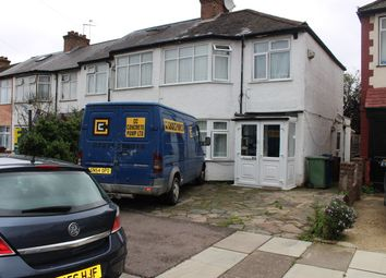 Thumbnail 4 bed semi-detached house to rent in Croft Road, Harrow