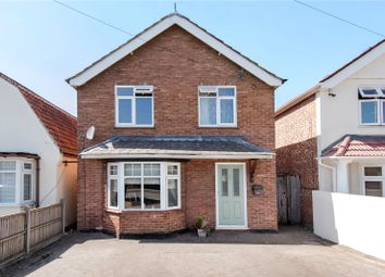 Thumbnail 3 bed detached house for sale in New Haw Road, Addlestone, Surrey
