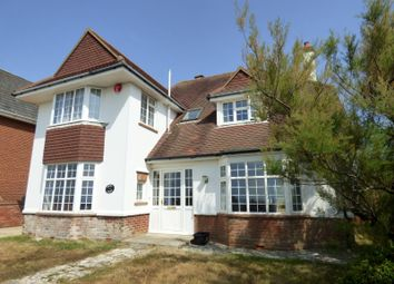 Thumbnail 4 bed detached house to rent in Marine Drive East, Barton On Sea