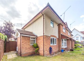 Thumbnail 1 bedroom end terrace house for sale in Lysander Close, Woodley, Reading