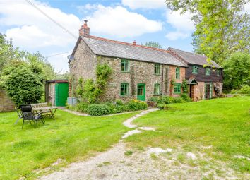 Thumbnail 4 bed detached house for sale in Llanfyllin