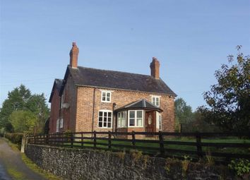 Thumbnail 4 bedroom detached house to rent in Bwlch-Y-Cibau, Llanfyllin