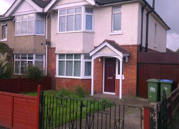 Thumbnail 3 bedroom semi-detached house to rent in King Georges Avenue, Southampton