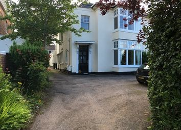 Thumbnail 1 bed flat to rent in Manston Terrace, St. Leonards, Exeter
