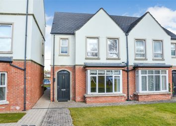Thumbnail 3 bed semi-detached house for sale in Moyola Manor, Newtownabbey, County Antrim
