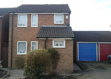 Thumbnail 3 bed detached house to rent in Carter Close, Enderby, Leicester