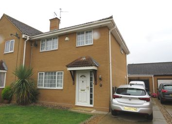 Thumbnail 3 bed semi-detached house for sale in Two Sisters Close, Sutton Bridge, Spalding