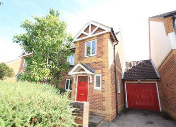 Thumbnail 4 bed semi-detached house to rent in Lavender Road, Woking