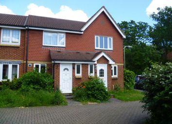 Thumbnail 2 bed semi-detached house to rent in Great Oaks Chase, Chineham, Basingstoke