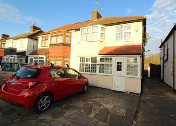 Thumbnail 3 bedroom semi-detached house to rent in The Glade, Clayhall, Ilford
