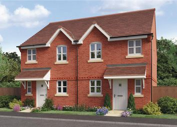 "Thumbnail 3 bed semi-detached house for sale in ""Beeley"" at Woodcock Way, Ashby-De-La-Zouch"