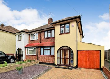 Thumbnail 3 bed semi-detached house for sale in Havering Road, Romford