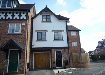 Thumbnail 4 bed town house to rent in Lower Brook Lane, Worsley, Manchester