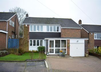 Thumbnail 4 bed detached house for sale in Frensham Way, Epsom