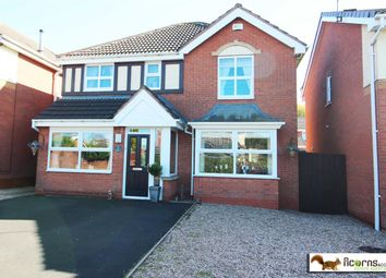 Thumbnail 4 bed detached house for sale in Ivy Grove, Brownhills, Walsall