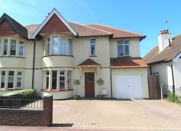 Thumbnail 5 bed semi-detached house for sale in Hadleigh Road, Leigh-On-Sea
