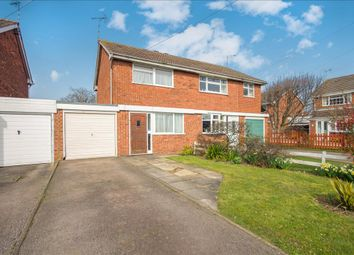 Thumbnail 2 bedroom semi-detached house for sale in Dale End Close, Hinckley