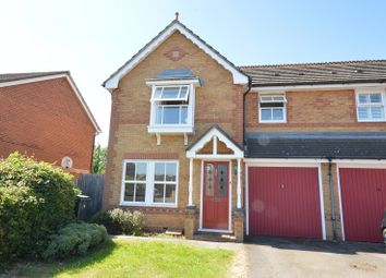 Thumbnail 3 bed semi-detached house to rent in Merritt Gardens, Chessington, Surrey.