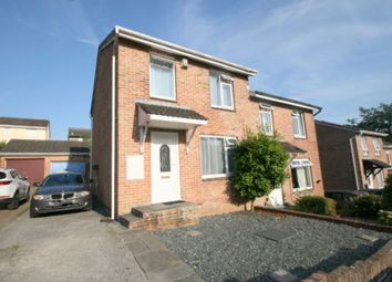 Thumbnail 3 bedroom semi-detached house for sale in Maddock Close, Plympton, Plymouth