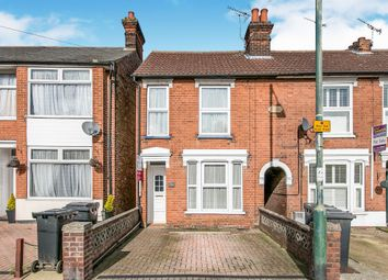 Thumbnail 3 bed terraced house for sale in Woodbridge Road, Ipswich