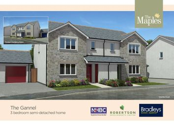 Thumbnail 3 bed semi-detached house for sale in Gwel Kann, Park Bottom, Redruth, Cornwall