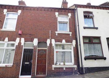 Thumbnail 2 bedroom terraced house for sale in Wellington Street, Hanley, Stoke-On-Trent