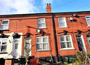 Thumbnail 2 bedroom terraced house for sale in Dartmouth Street, West Bromwich