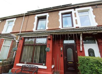 Thumbnail 3 bed terraced house for sale in Caerllwyn Terrace, Ynysddu, Newport