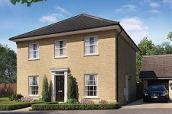 Thumbnail 4 bed detached house for sale in Off Saham Road, Watton