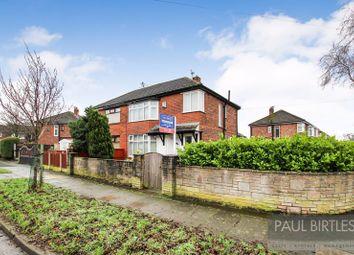 Thumbnail 3 bed semi-detached house to rent in Humphrey Lane, Urmston, Trafford